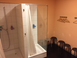 Cloakroom / shower